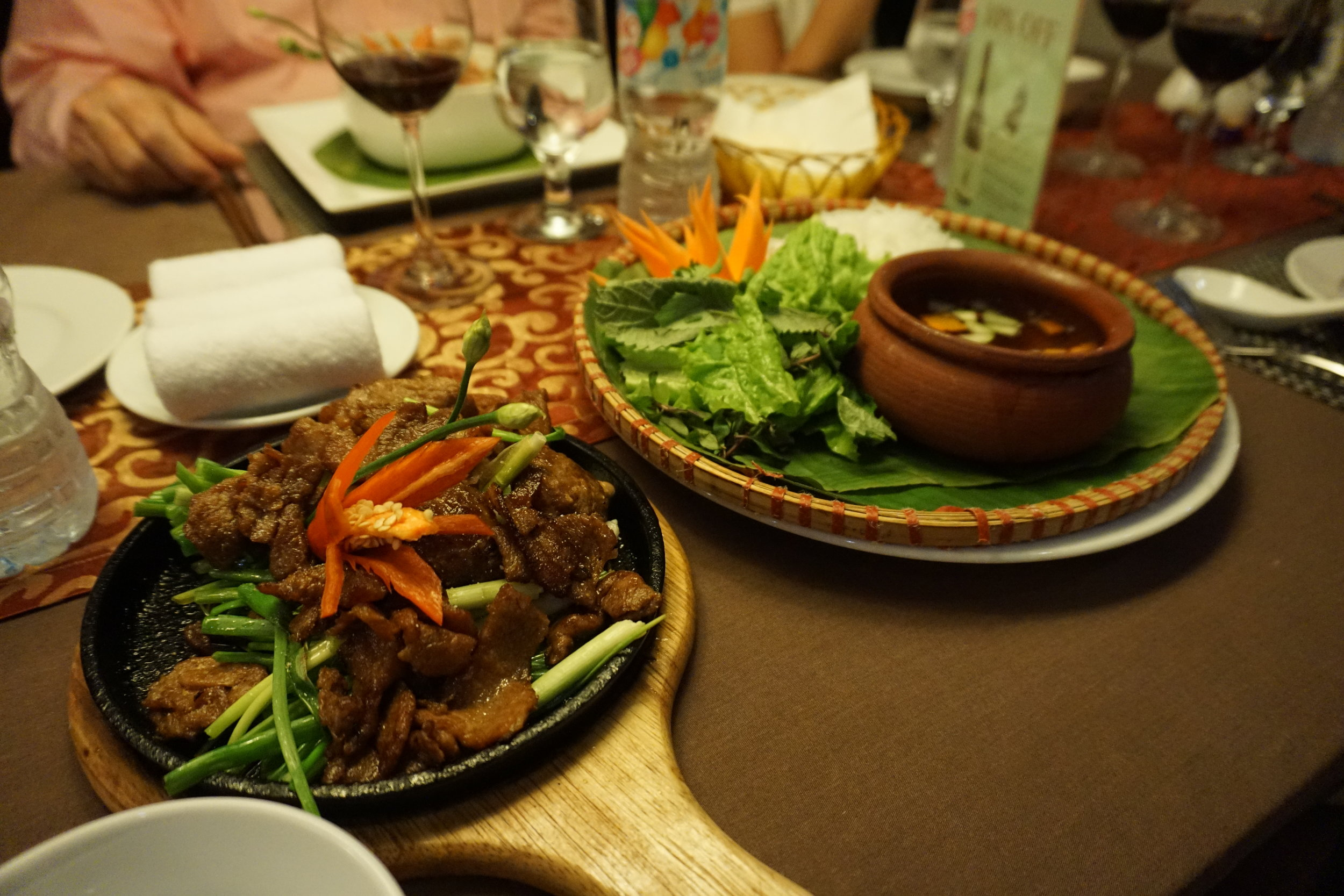 Bun Cha (pork & noodles in a fish sauce) , Hanoi, Vietnam