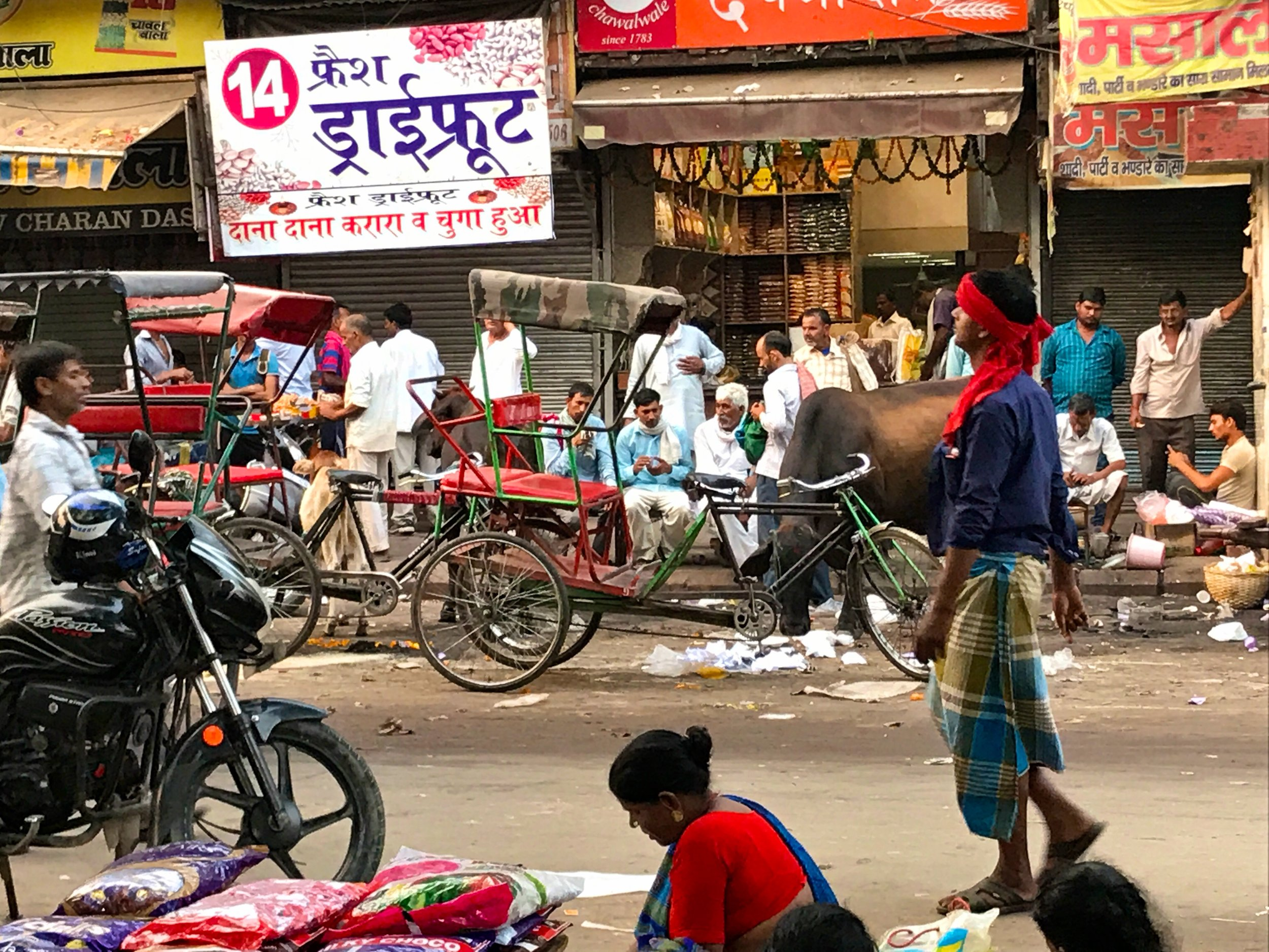 Chandni Chowk, Old New Dehli, India