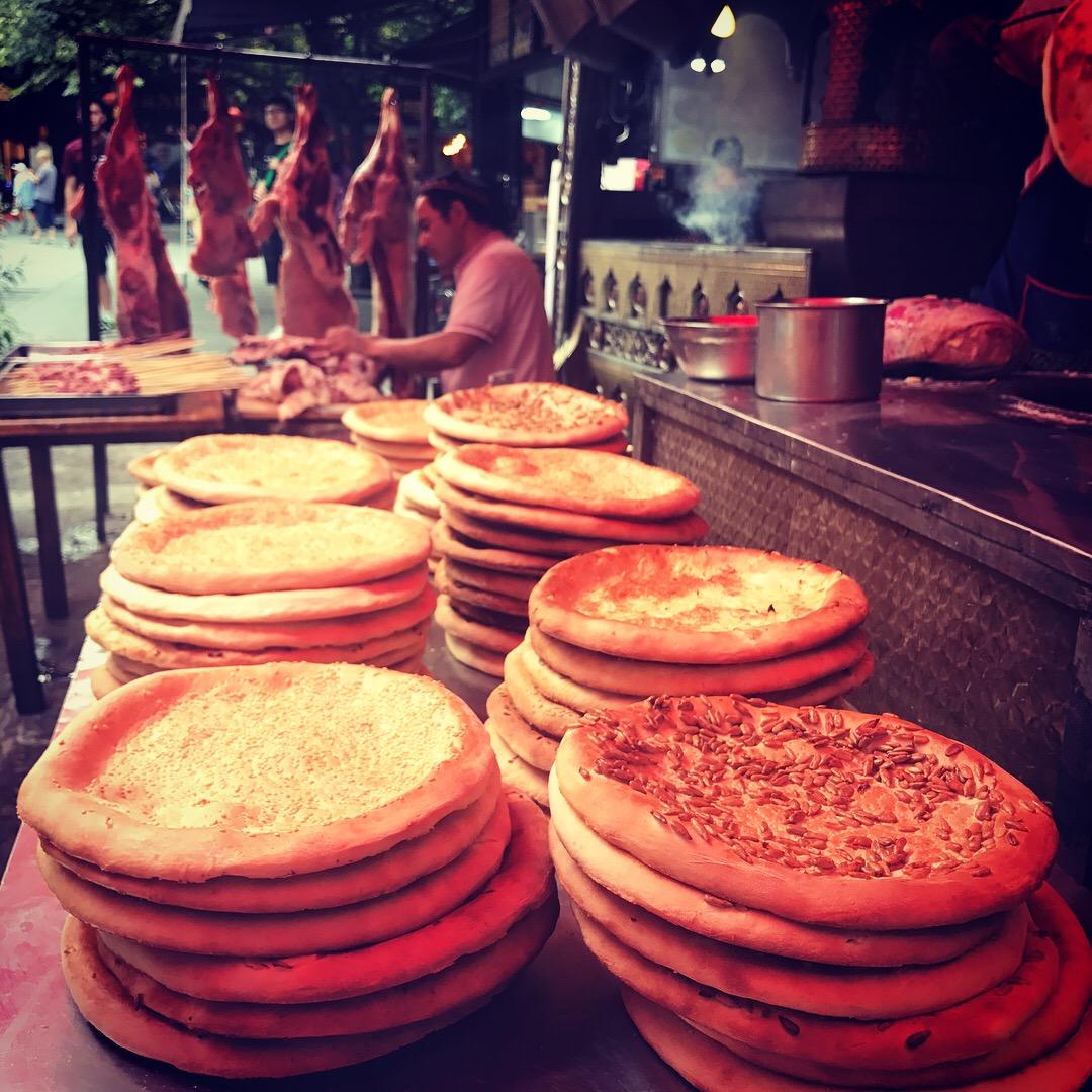 yummy street food, Chengdu, China