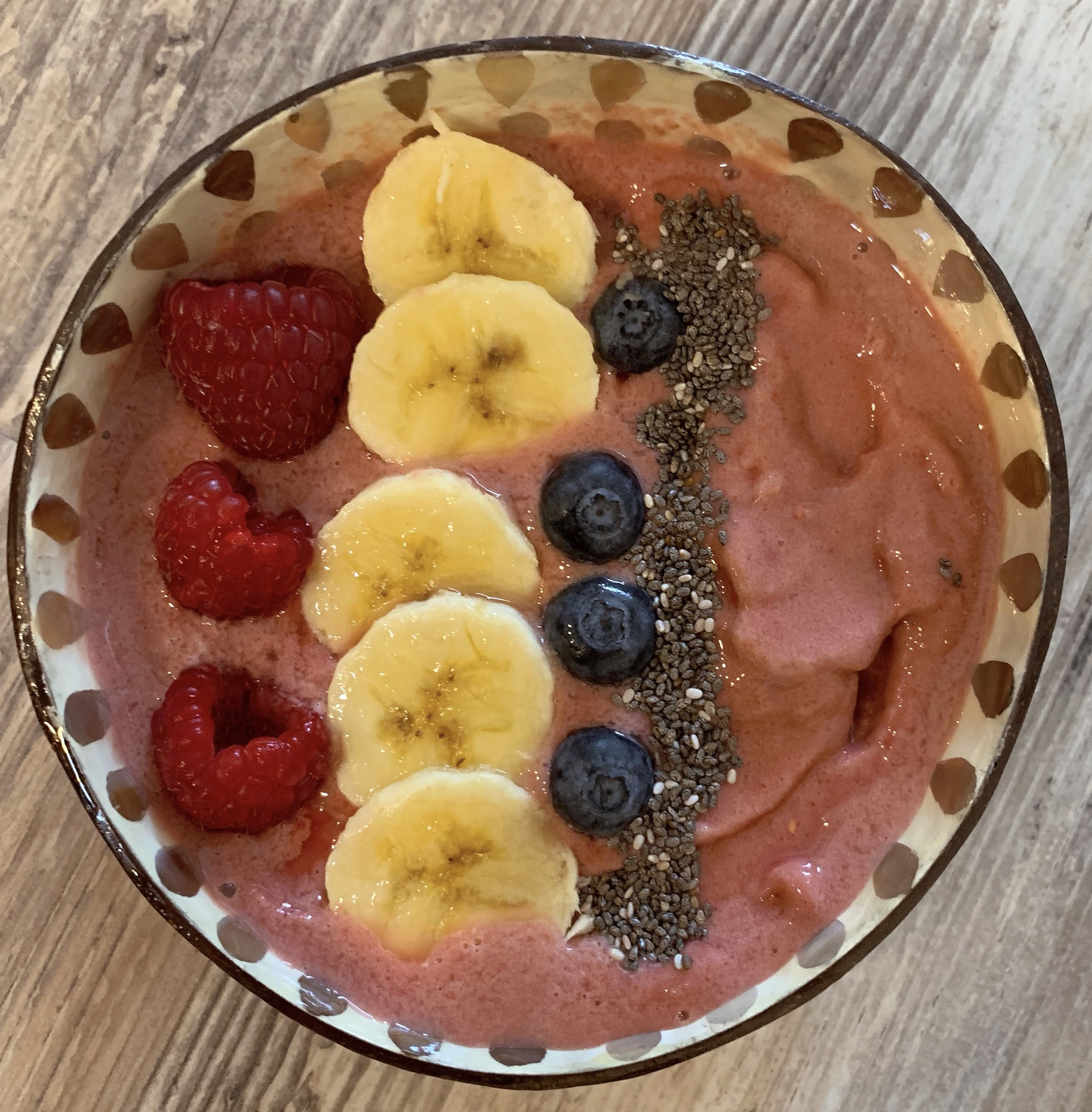 my homemade smoothie bowl