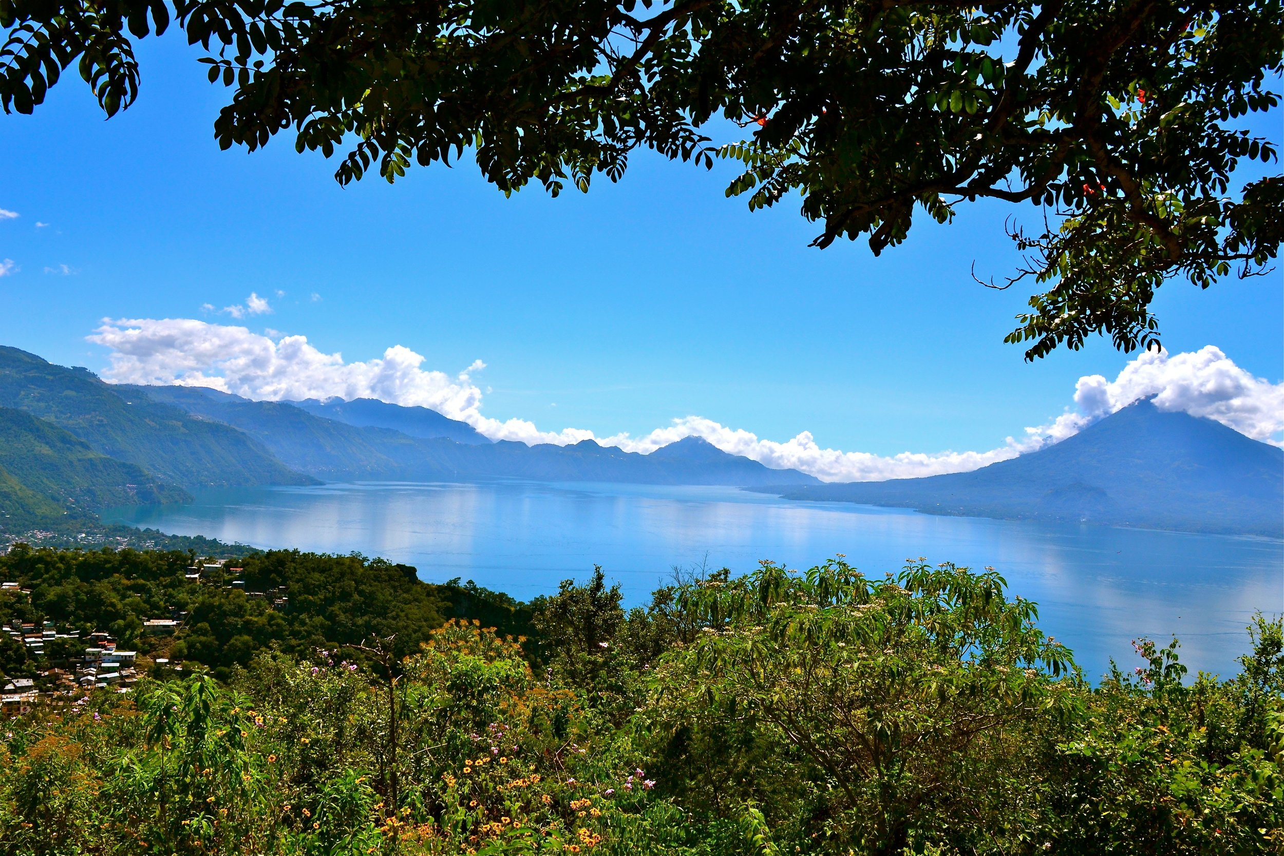 Lake Atitlán   by Lucy Maynard