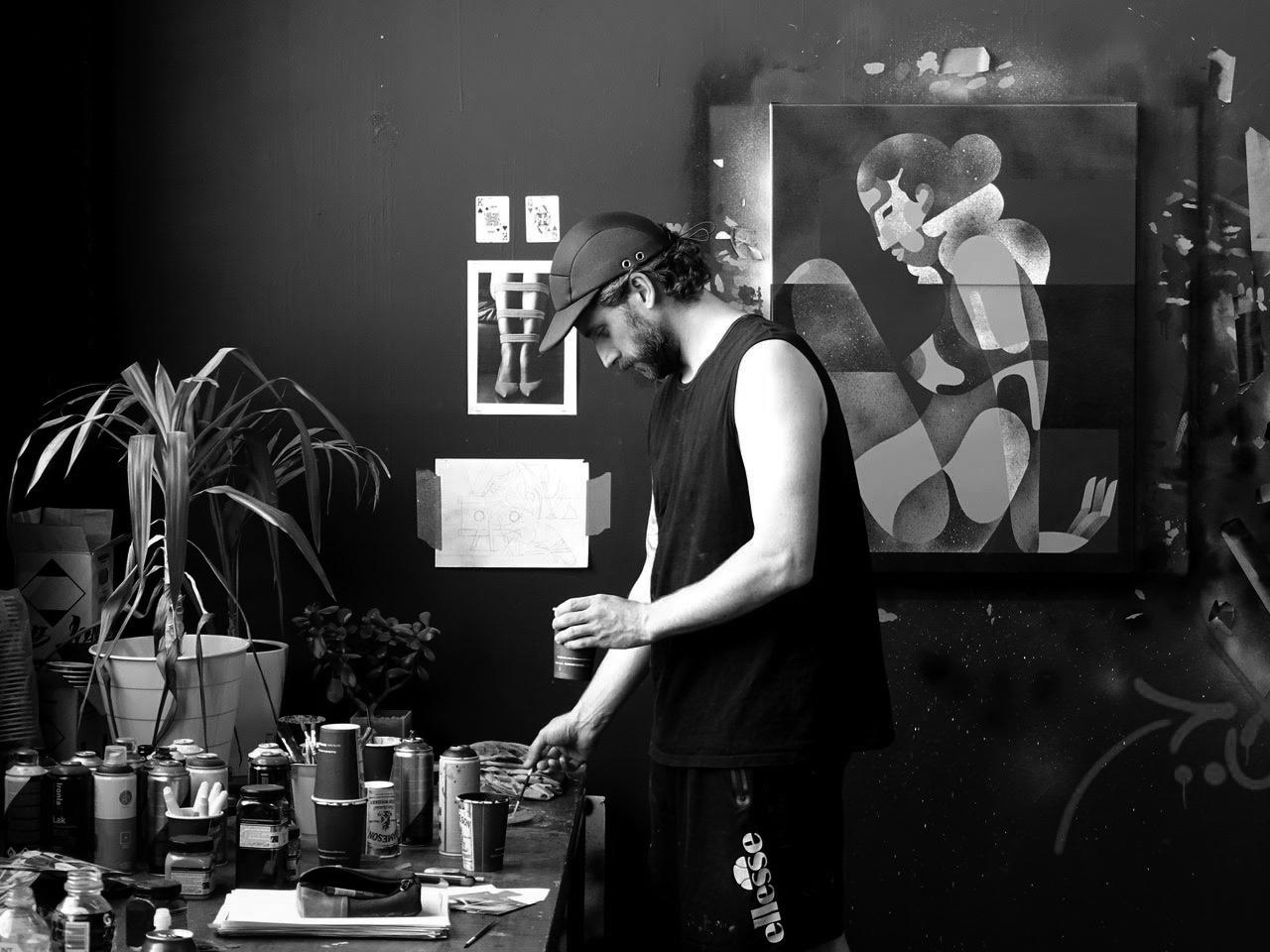 Backwoods Gallery artist James Reka
