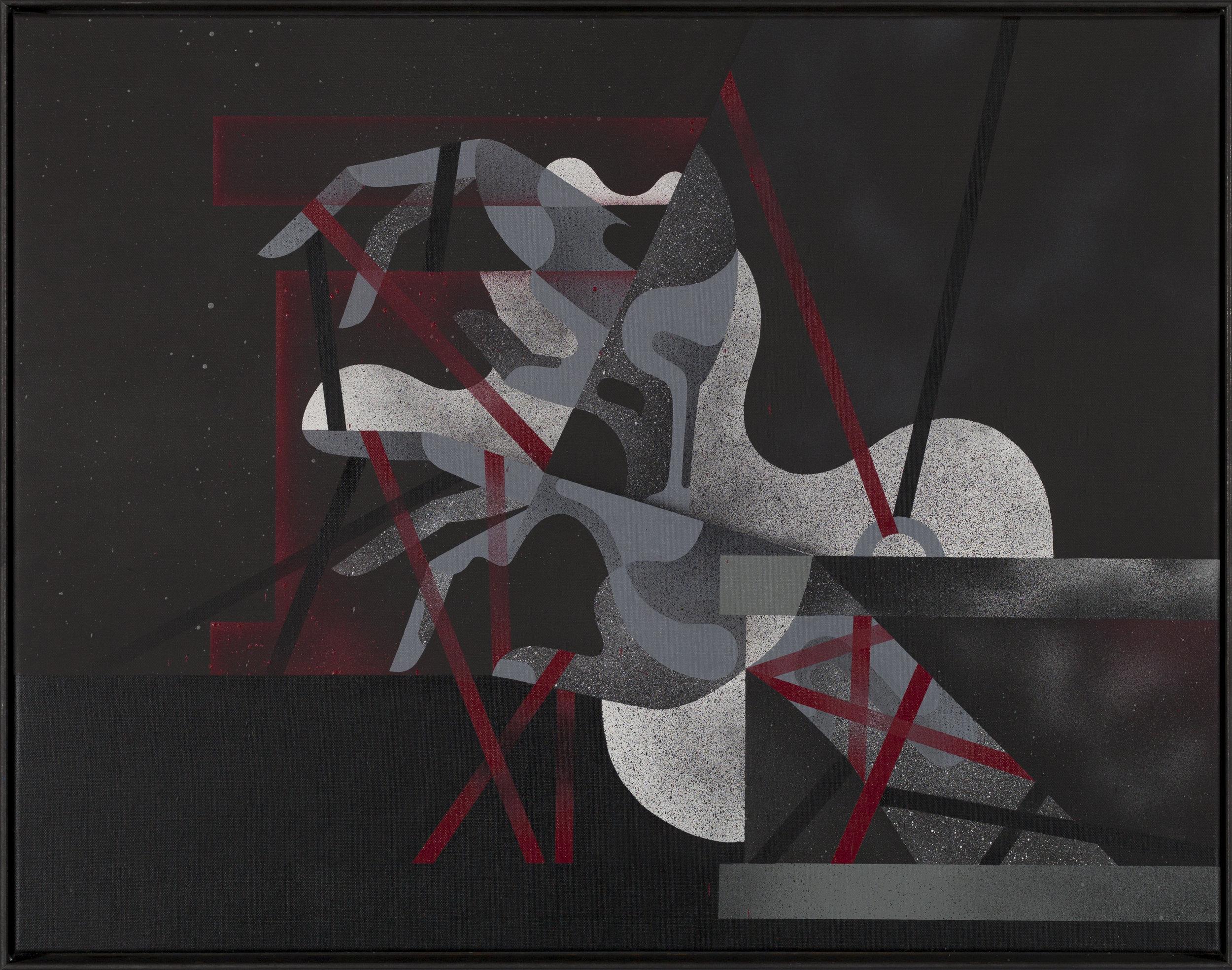 Selbst Binden, Scarlet by James Reka