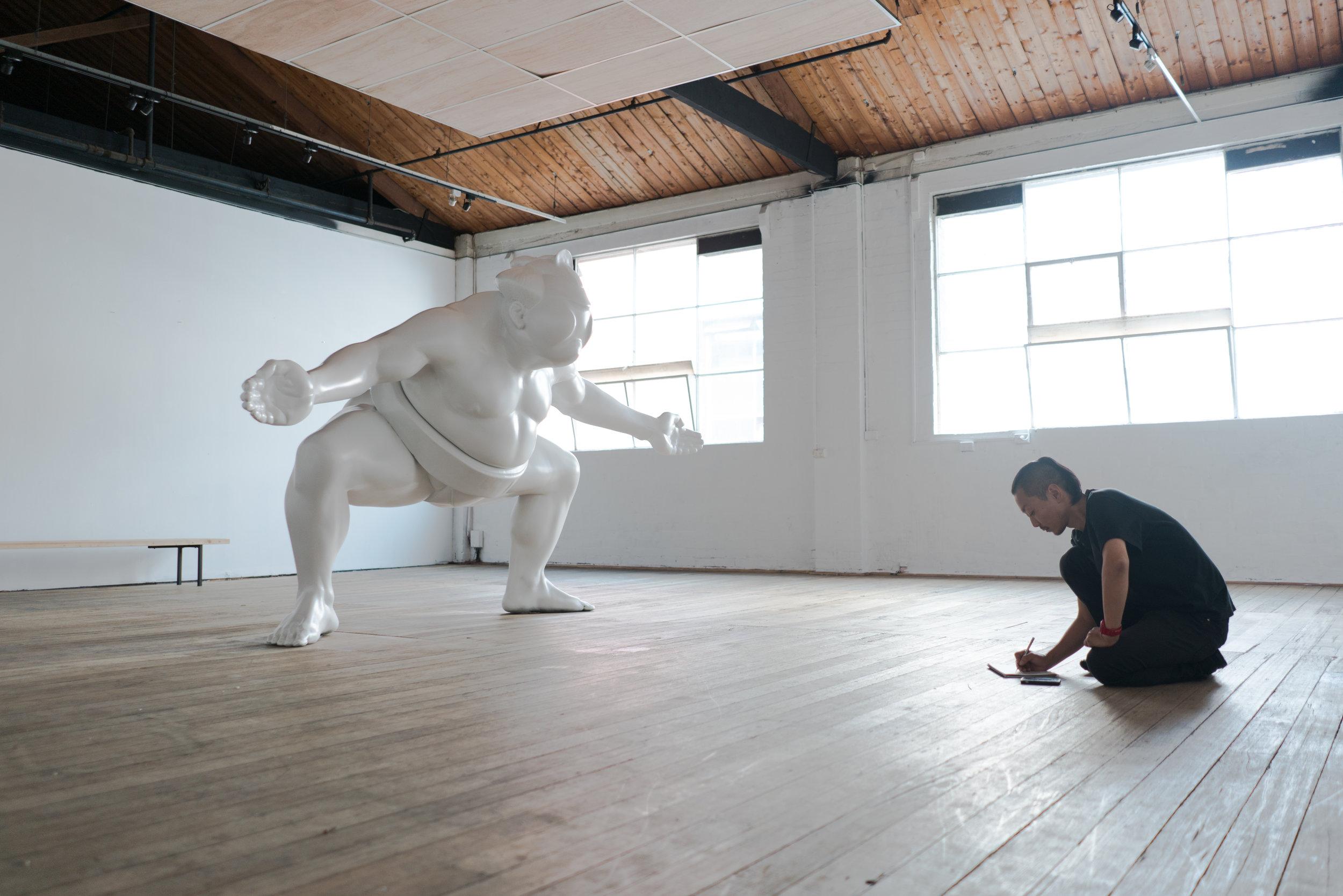 Backwoods Gallery artist Shohei Otomo