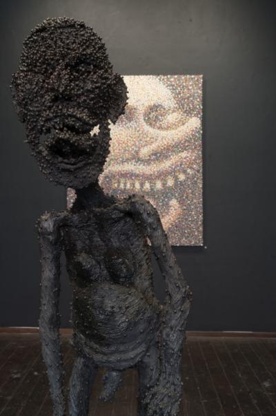 Self Loathing by Backwoods Gallery artist Mic Porter