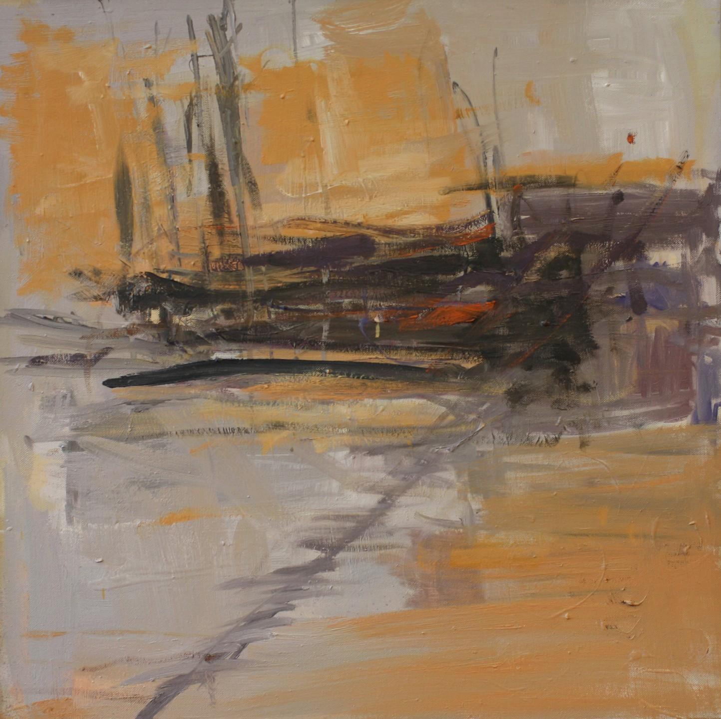 Painting_46_Olmec Horizon,oil on canvas, 24 x 24 in.JPG