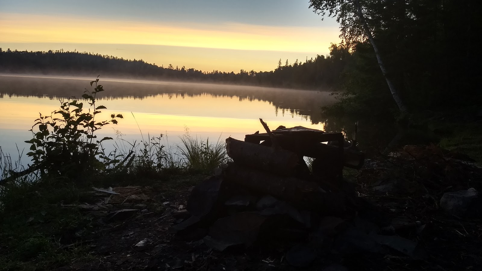 Photo by Emily Jahn. Birch Lake, BWCAW