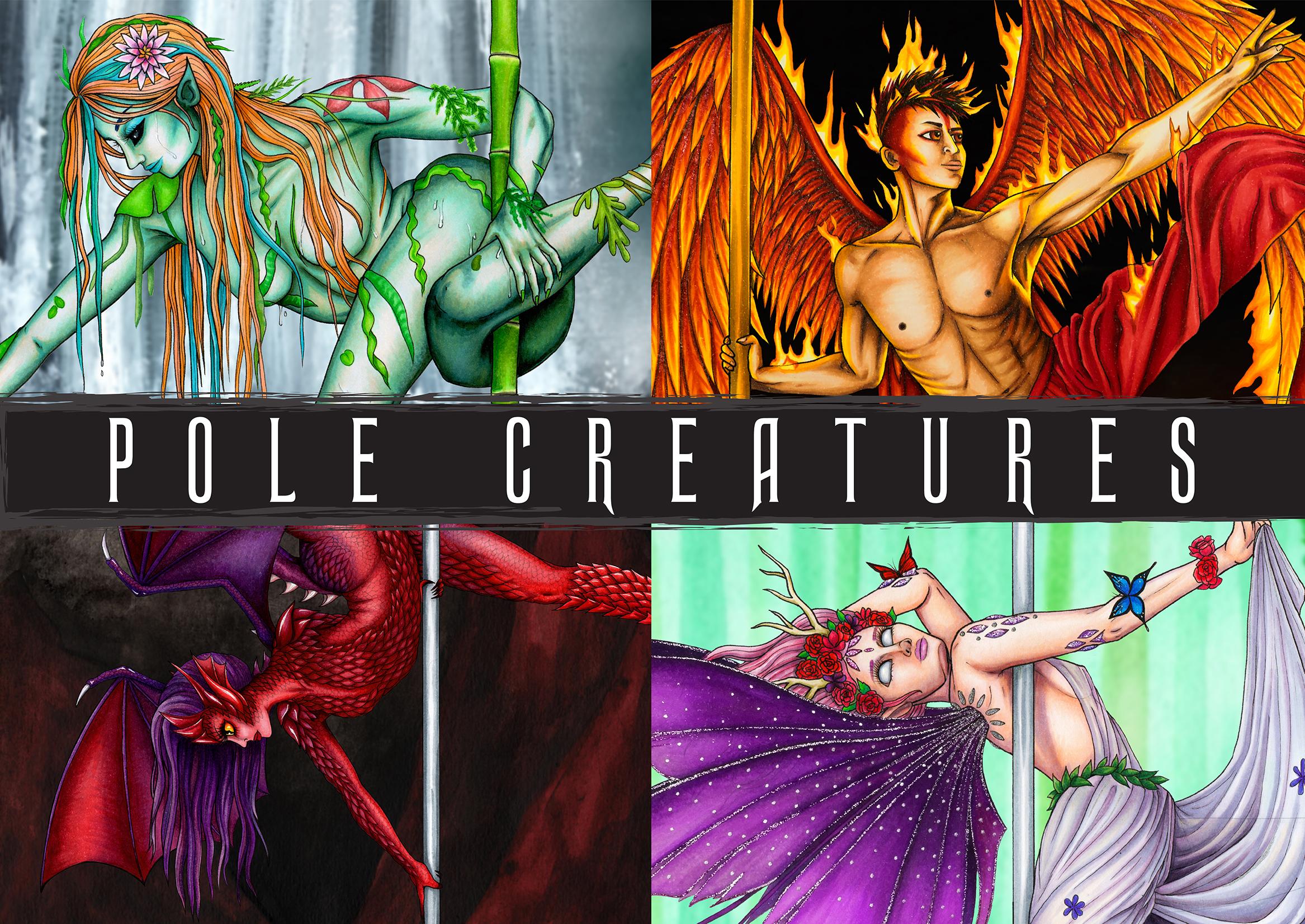Pole Creatures 2019 Calendar