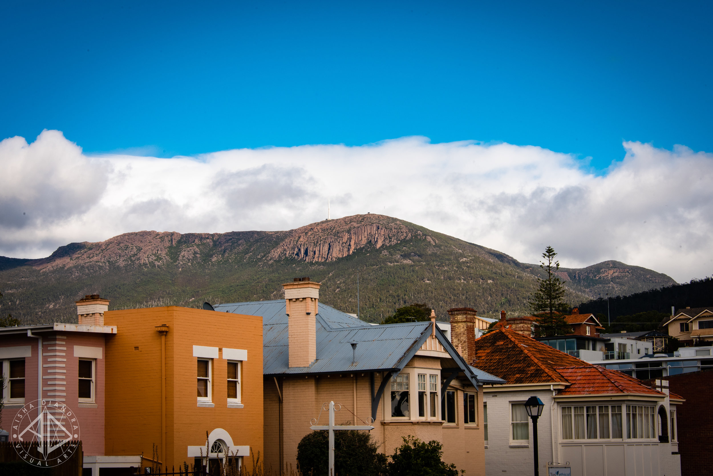 You can find this image of Hobart and more shots from around Hobart and Launceston in the  Cities + Adventures  gallery.