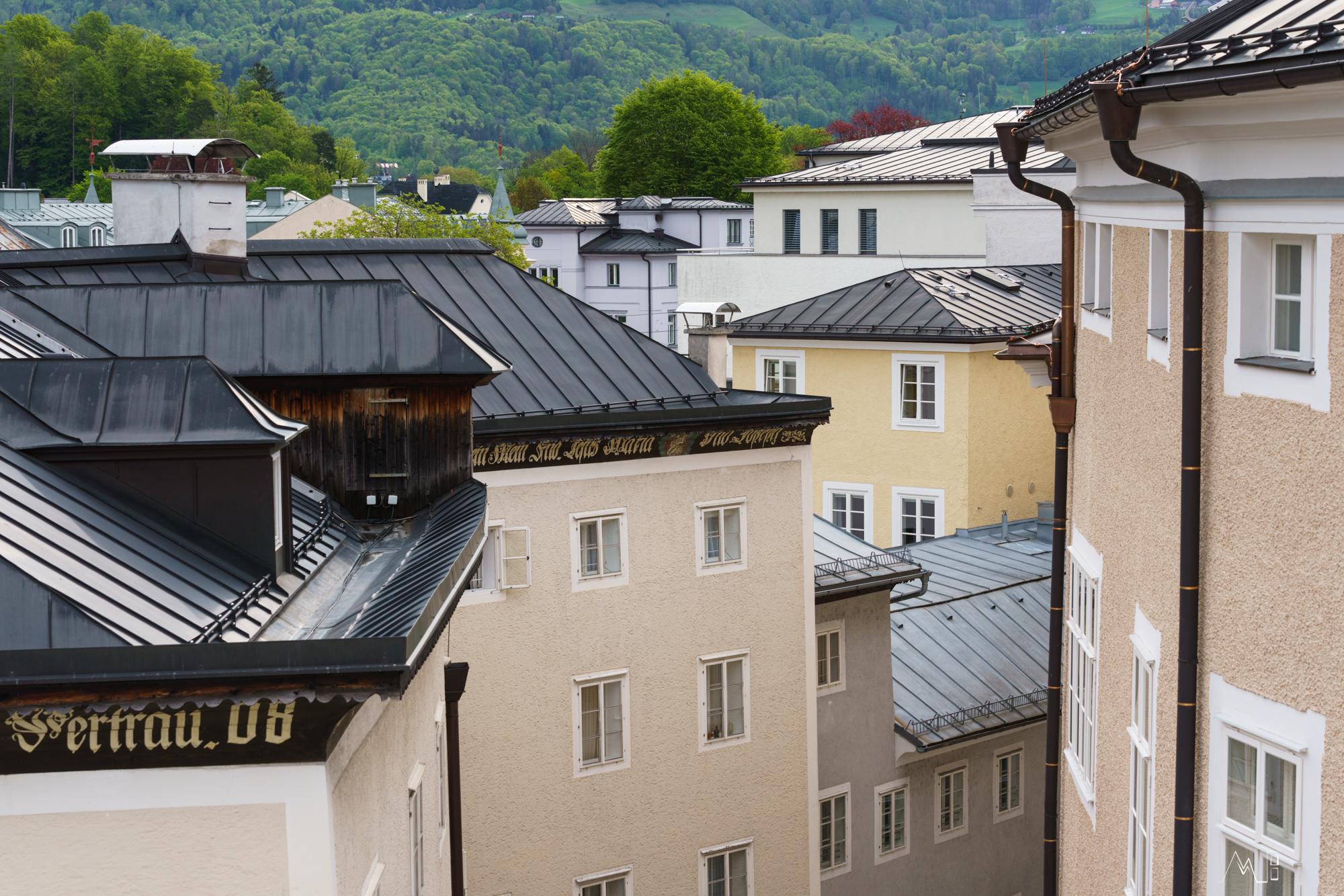 Salzburgs geschachtelte Häuser (Foto: Christian Thiess)