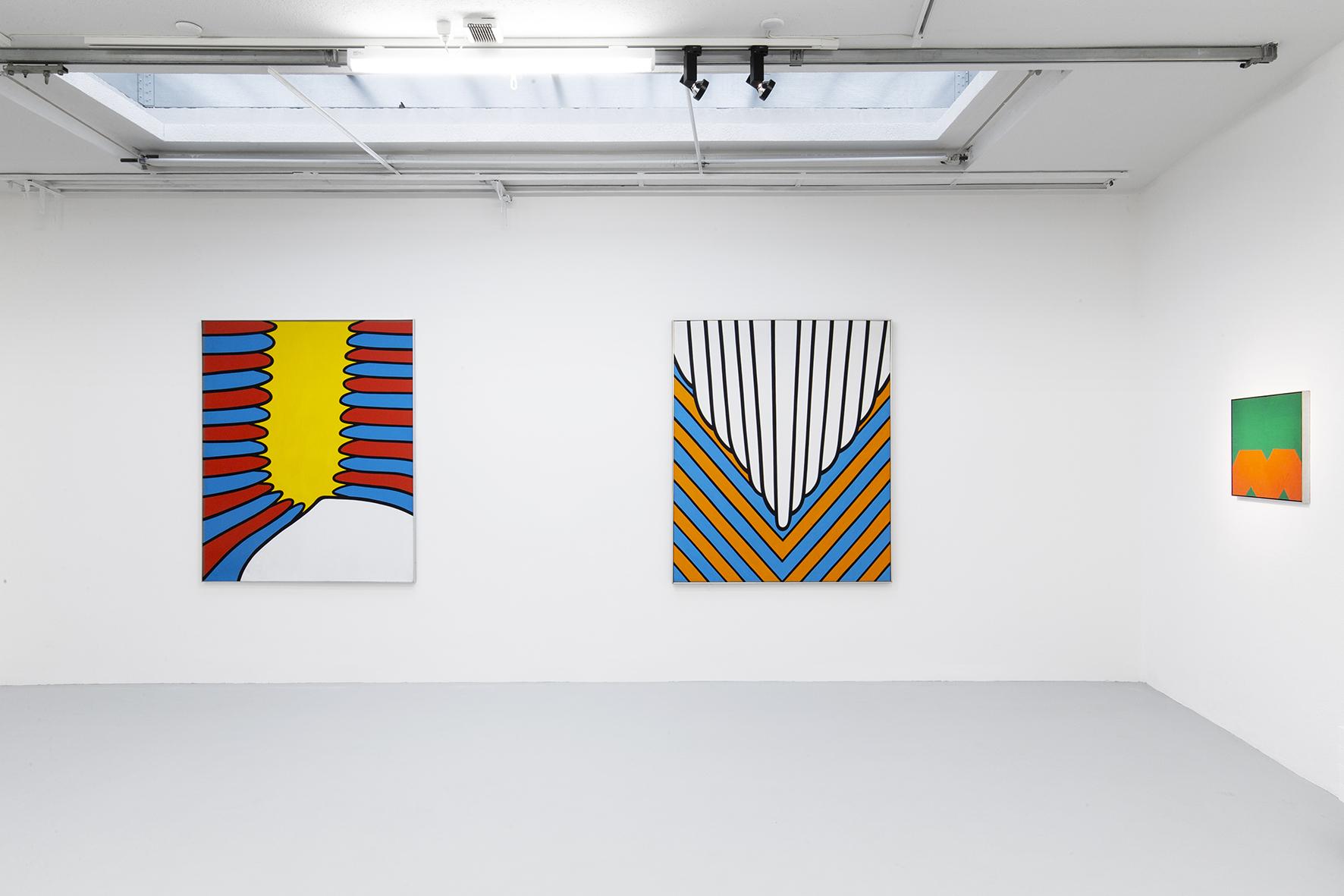 Installation view 7_Three Americans_Galerie Mueller.jpg