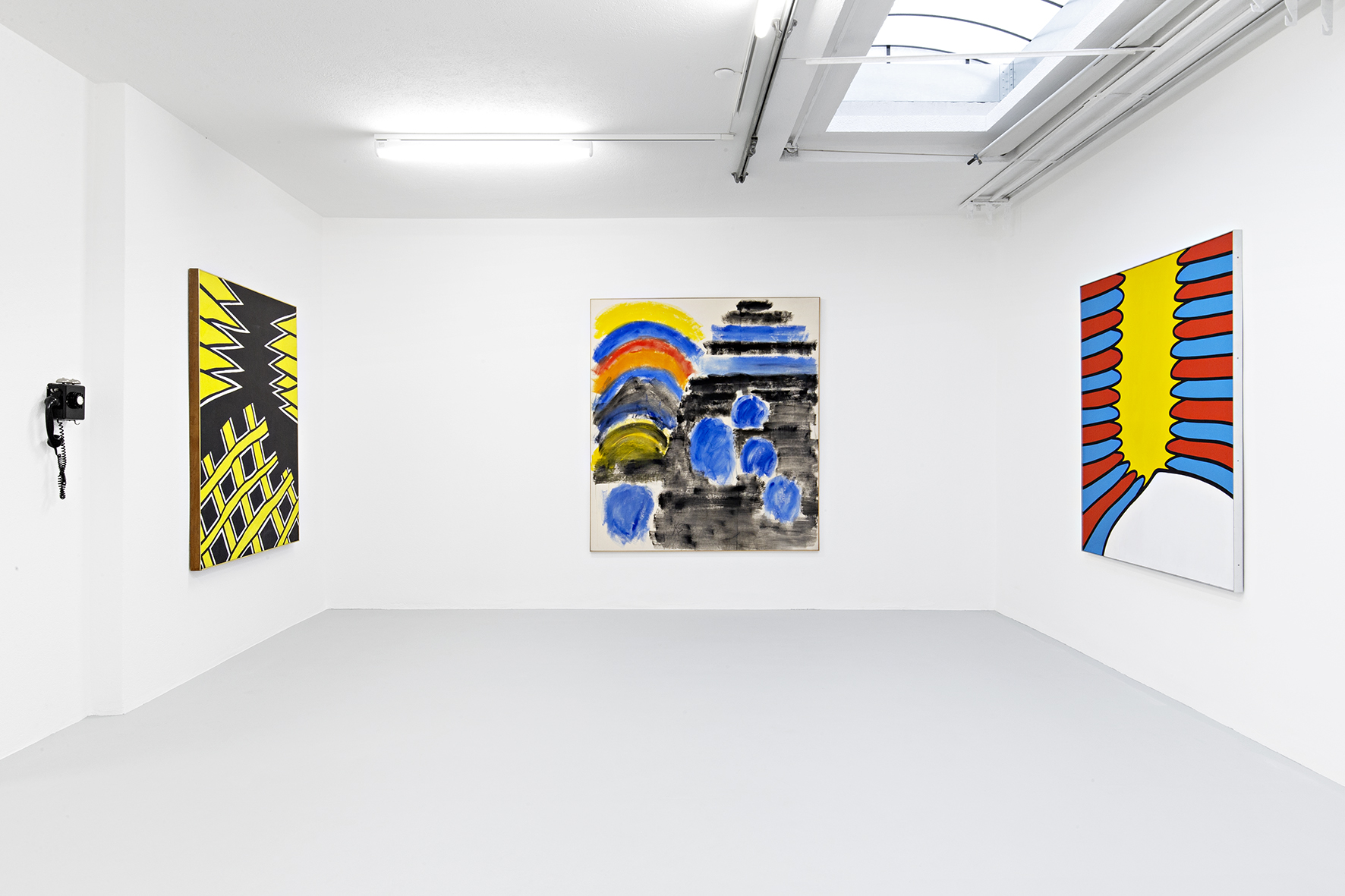 Installation view 3_Three Americans_Galerie Mueller.jpg