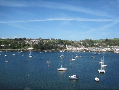 The view from my room in Falmouth