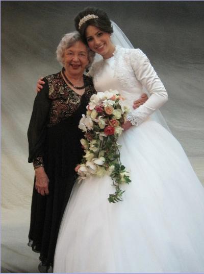 The bride Esti with me