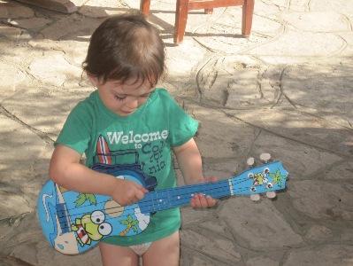 My great-nephew Yoel