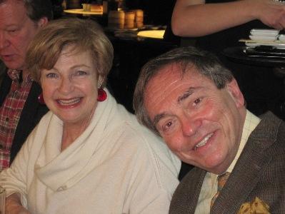 Ruth Leon & Sir Michael Burton