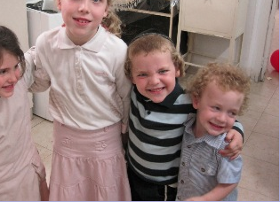 4 of my darling great-grandchildren.