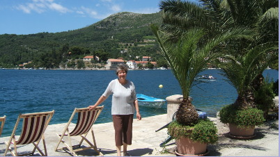 """Sunday"" taken from her terrace in Zaton"