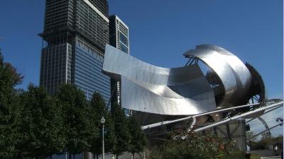 Frank Gehry's open air auditorium