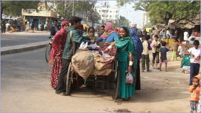 Ahmedabad street scenes