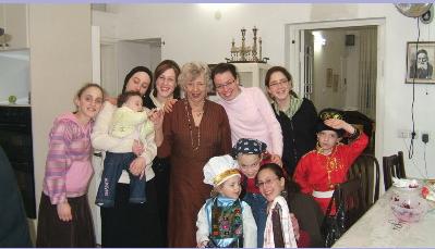 With some of my 10 grandchildren and 8 great-grandchildren