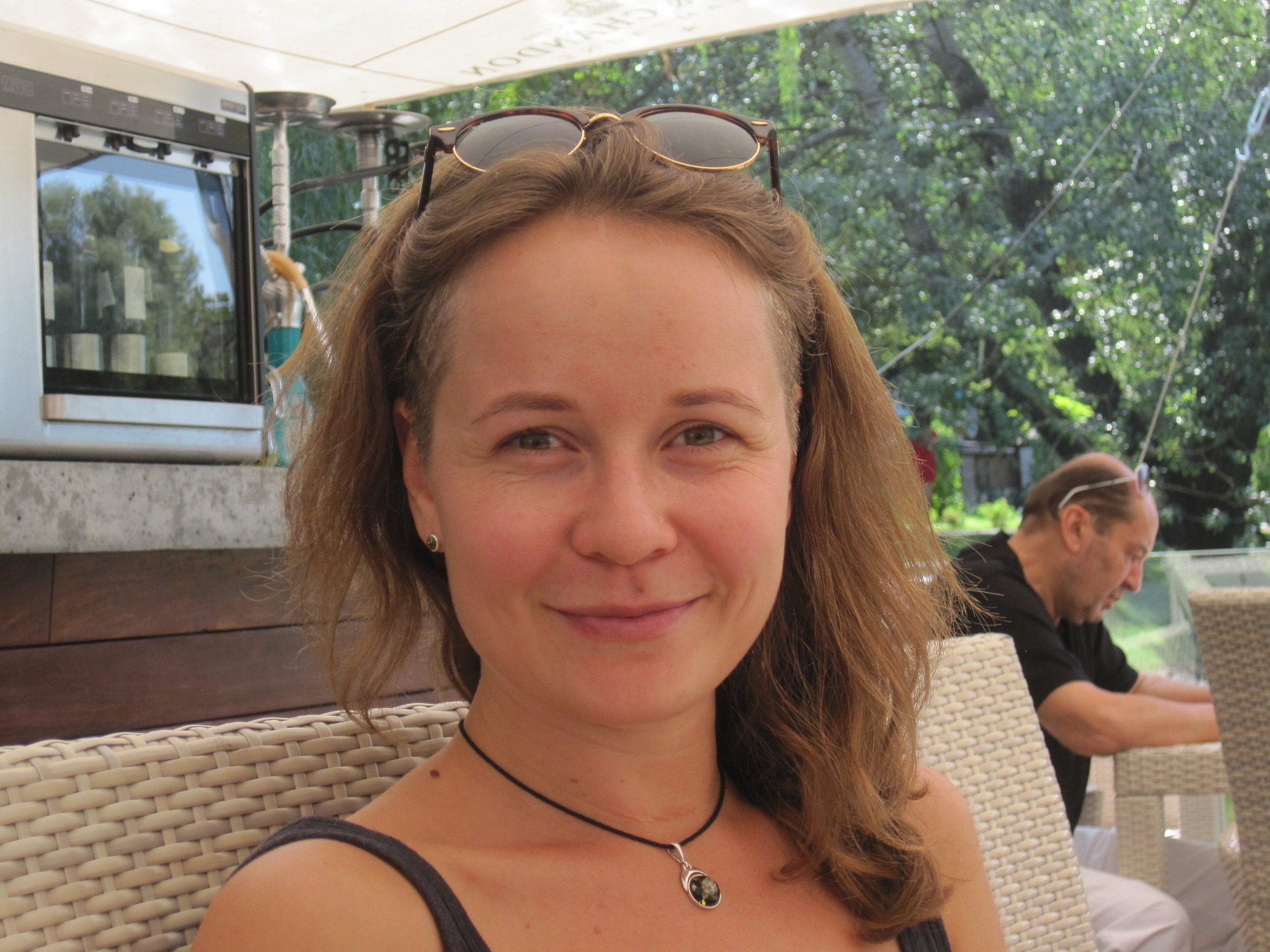 Margareta, our wonderful guide