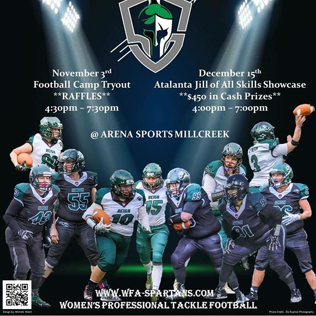 Thank you Seattle Spartans for the chance to be a sponsor! We look forward to visiting with you soon! #Seattlespartans #everysporteveryplayeveryinjury