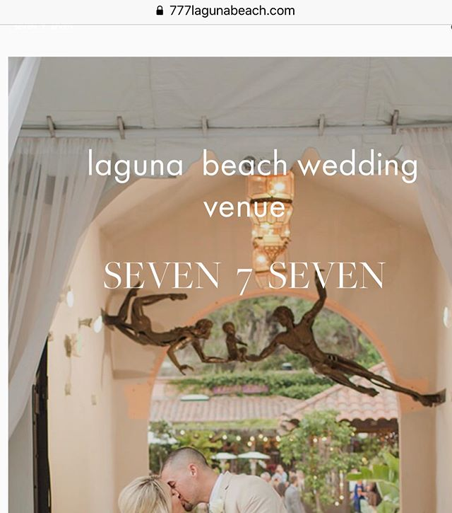 Guess who's website is finally up! seven 7 seven is excited to present their website just in time before open house!  Check it out 👉🏻 www.777lagunabeach.com