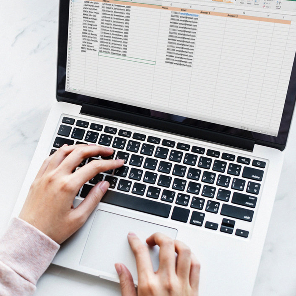 Email Data   Compilation of your email contacts, names, addresses, phone numbers into one document. Your document will be up to date and ready to work on or import as required.
