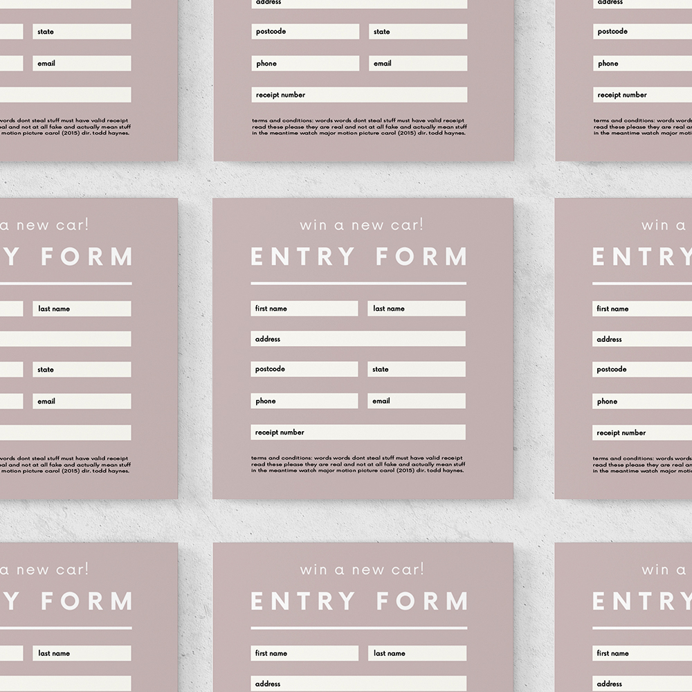 Competition Forms   Conversion of the information collected via your competition forms into a format ready for you to use the information as you require.