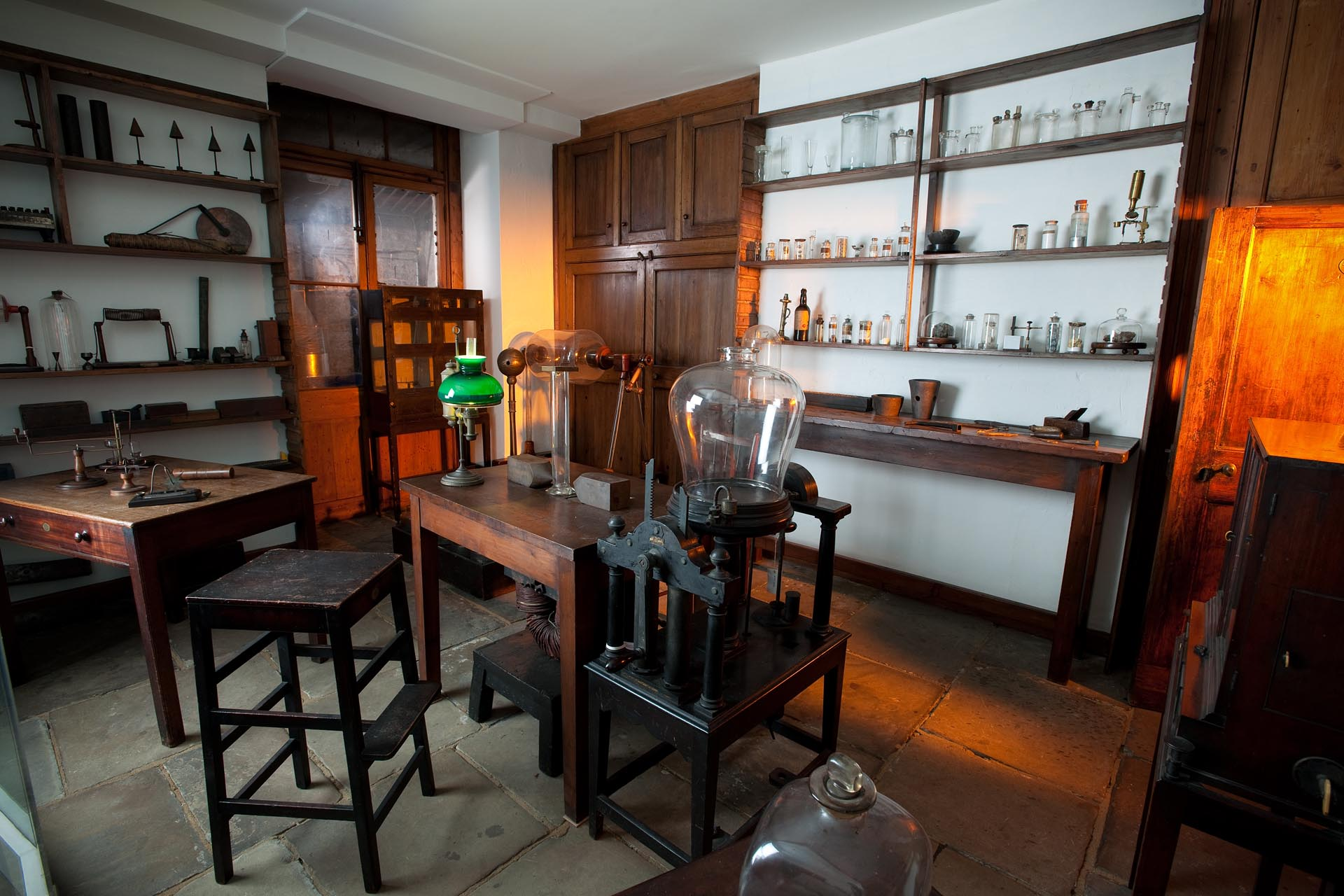 Faraday's original basement laboratory in the Royal Institution - credit Paul Wilkinson.jpg
