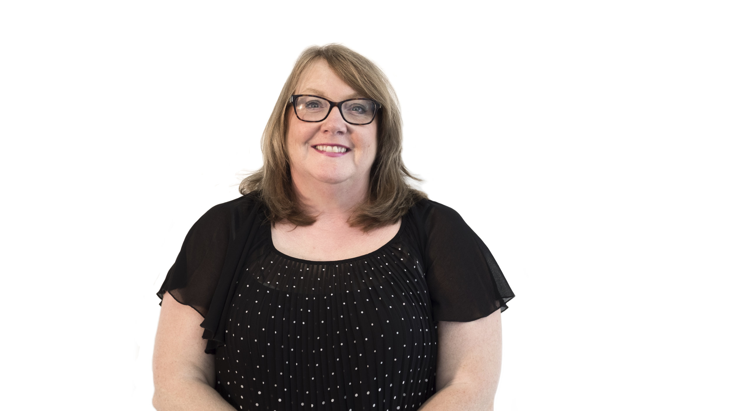 Jaine Chisholm -Studio Admin & Finance Manager - Making sure the team are all facing in the right direction, Jaine ensures we've all got our head screwed on straight. She crosses the T's and dots the I's, and makes sure all the numbers add up in between.