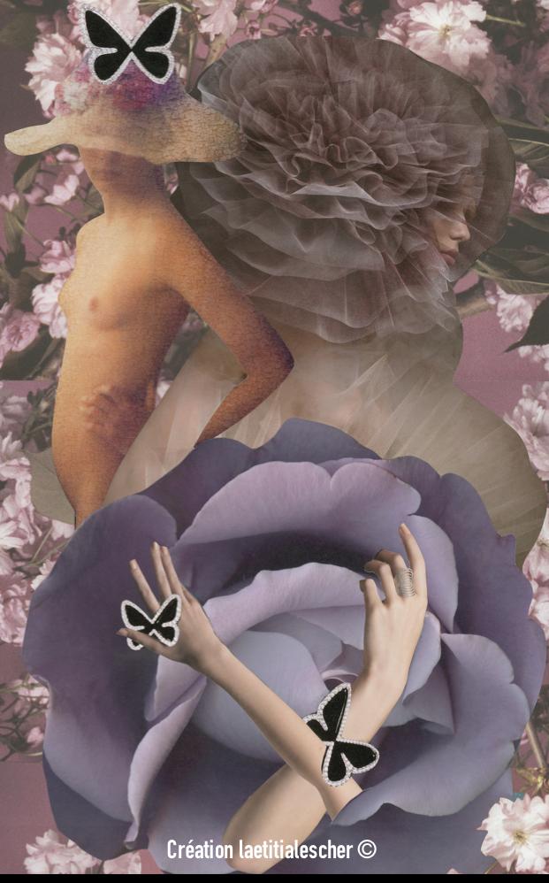 "Icône ""Violetta"" - série les ODES"