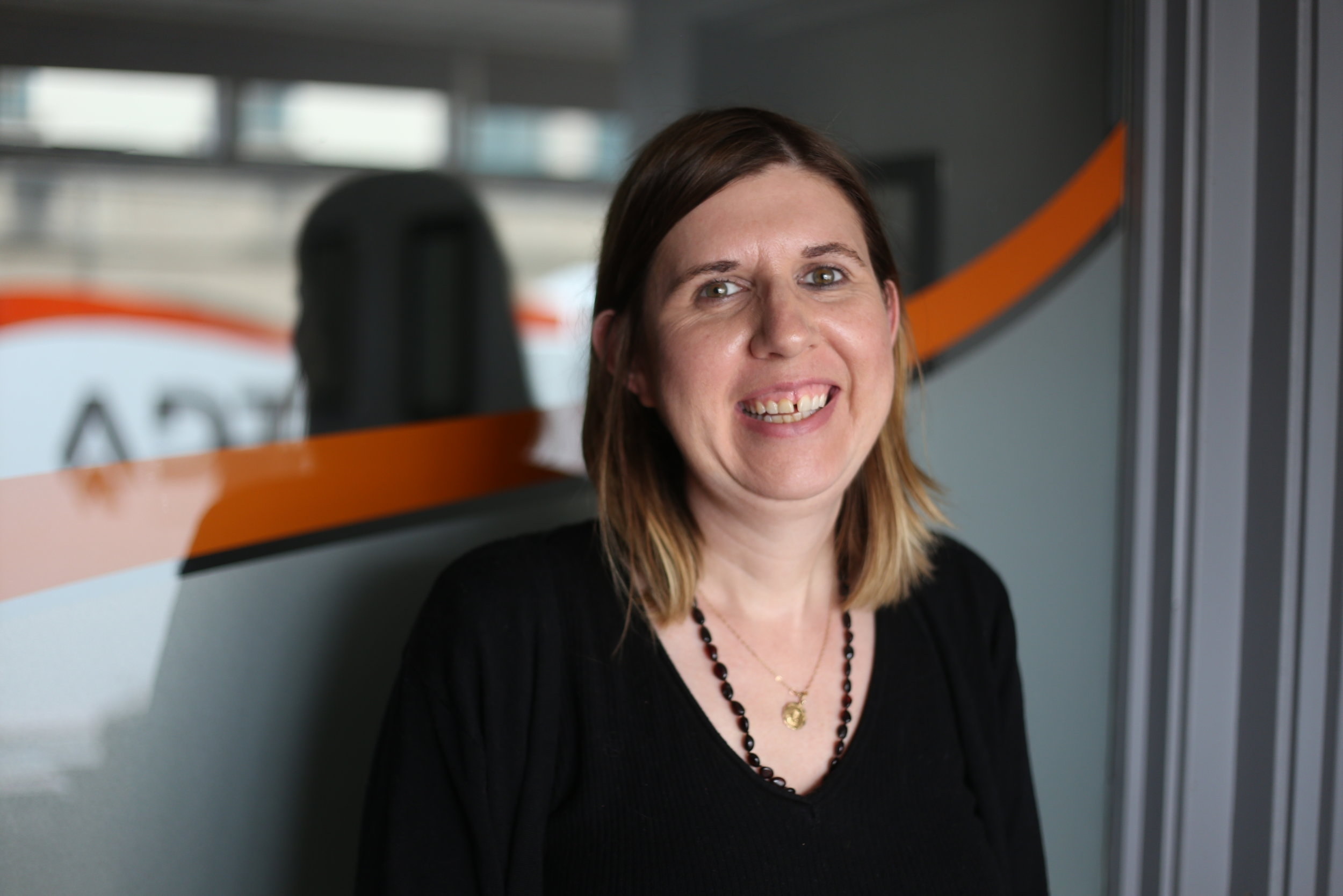 Lorraine Flanagan: Sales & Accounts   Lorraine Flanagan is based in our office in Mullingar. Lorraine has been working with us for four years now. Lorraine is always on hand to help out ADTA's customers. If you've ever phoned in, you've most likely dealt with her before!
