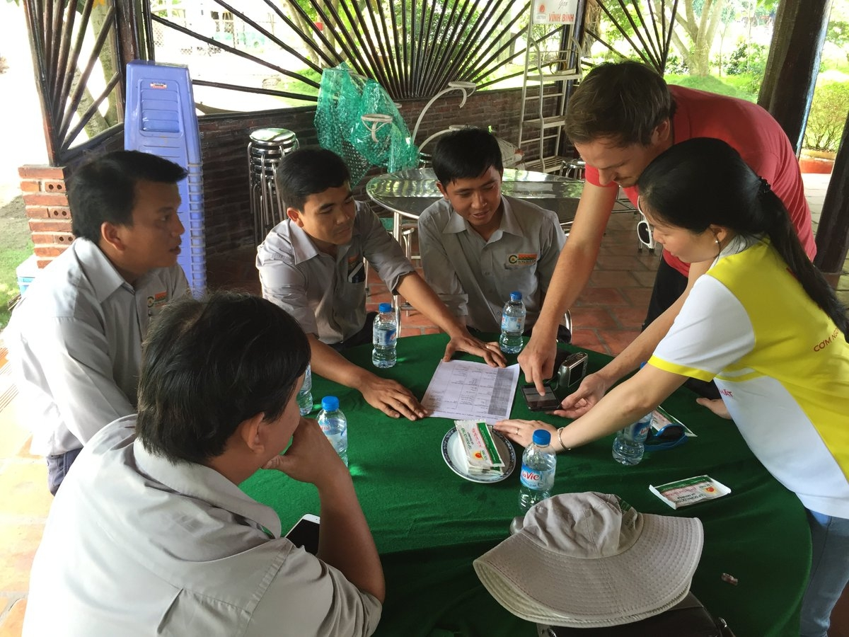 Satelligence is working on the ground in Vietnam -