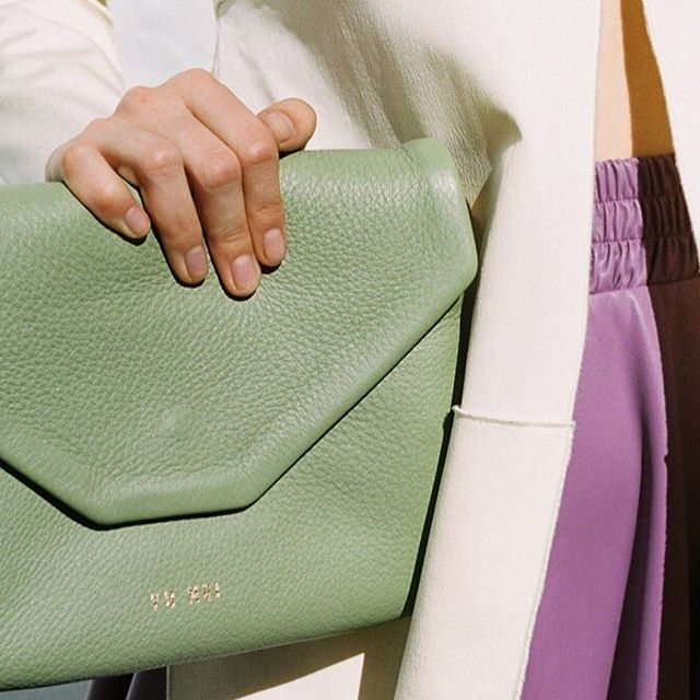 That lush mint leather is on the top of our NEED list...via @yumeibrand