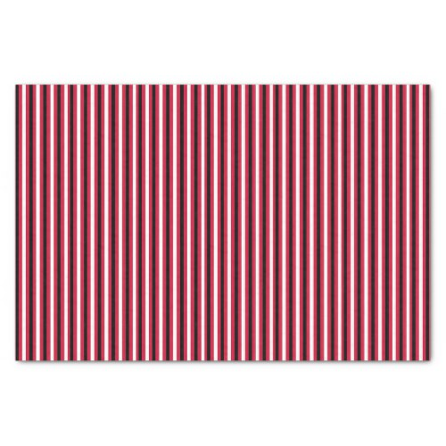 Fabulous Birthdays red stripes Tissue Paper by Floating Lemons for Zazzle  USA  and  UK