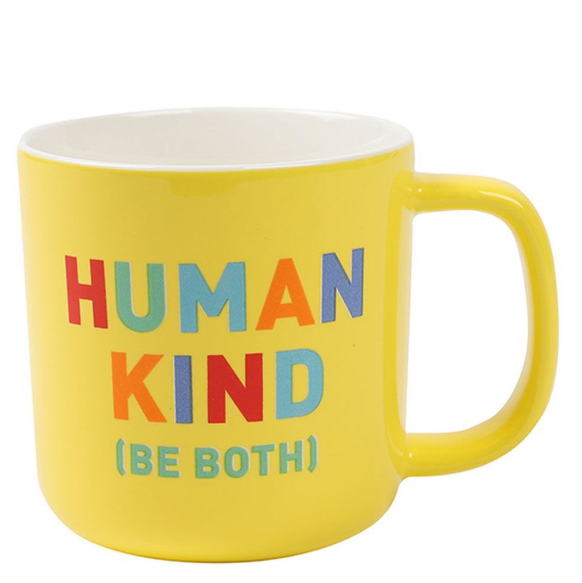 Human Kind ceramic mug by Paperchase