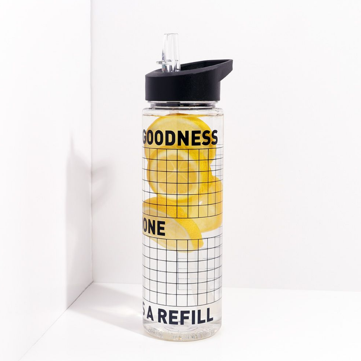 Refill water bottle by Paperchase