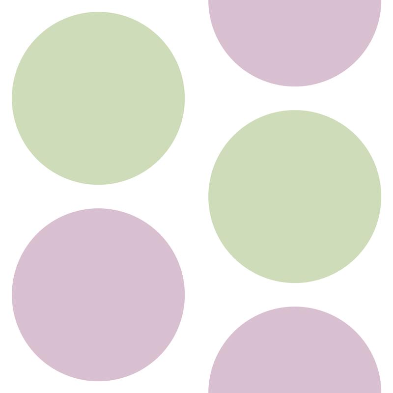 Purple Artichoke Dots by  Floating Lemons Art