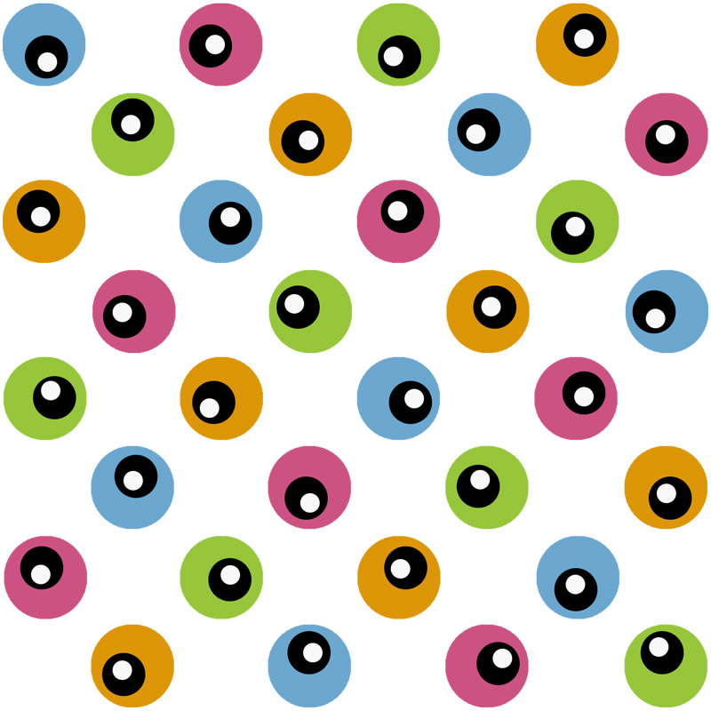 Candy Gifts Dots by  Floating Lemons Art