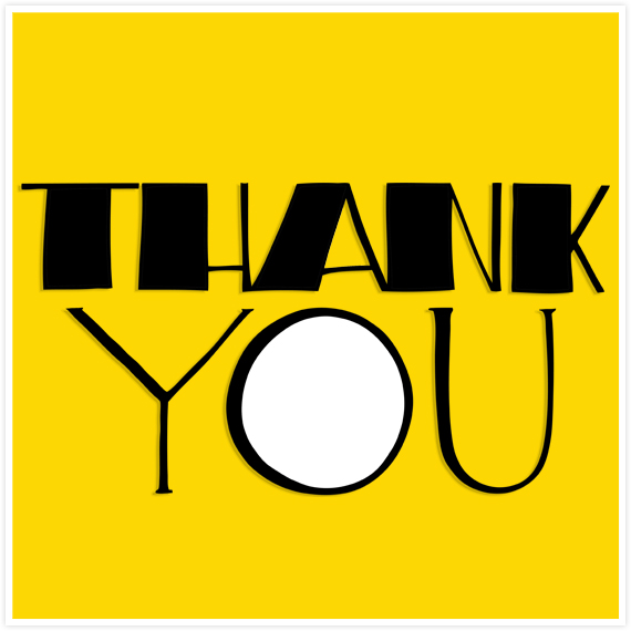 Big Thank You by  Floating Lemons Art