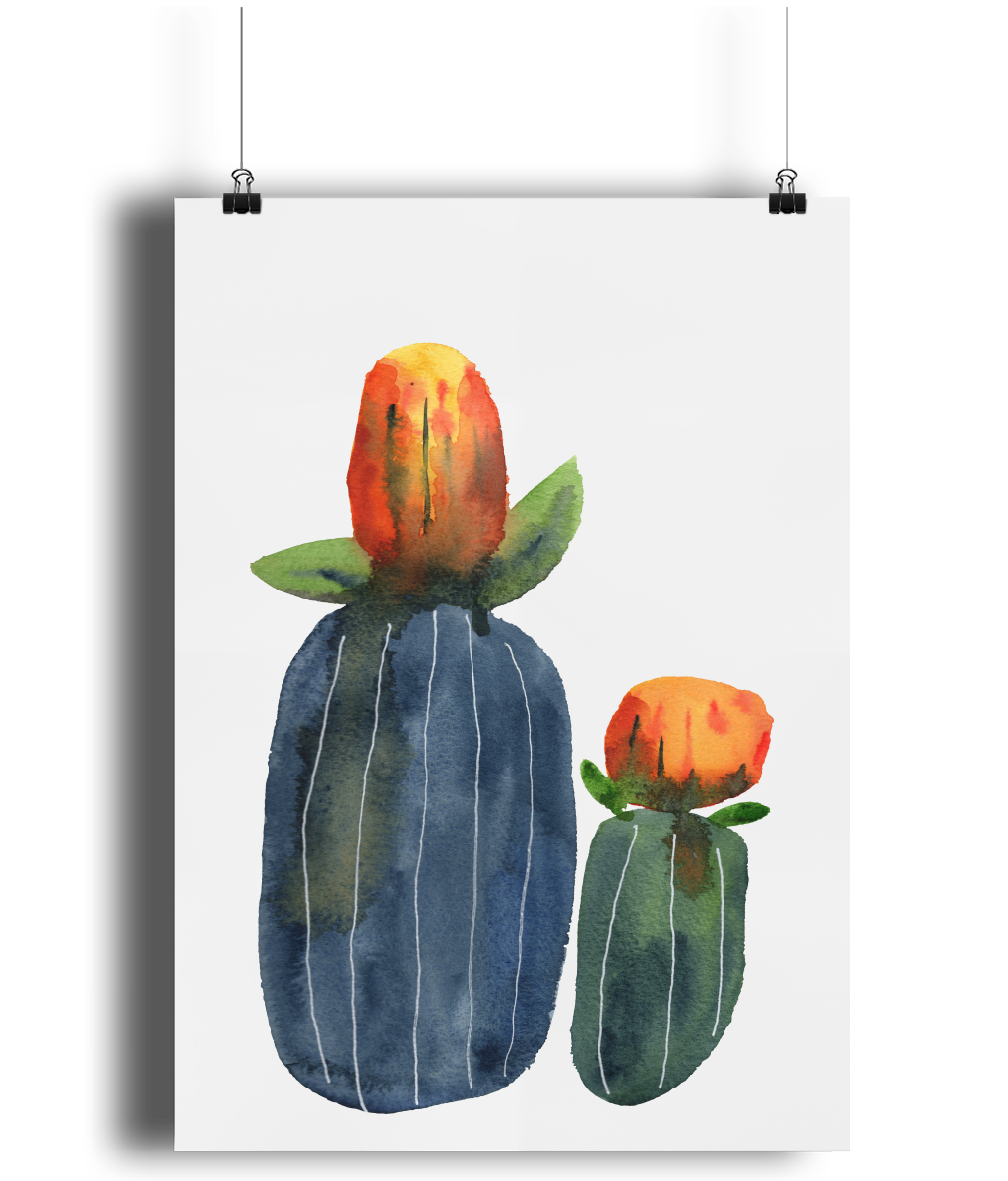 Odd Botanicals 1 art print by MarianaBlackDesigns.png