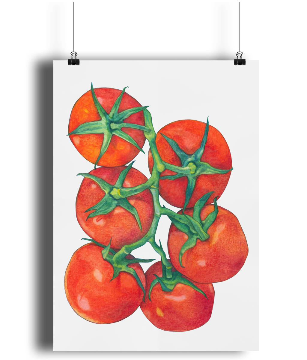 Red Tomatoes art print by MarianaBlackDesigns.png