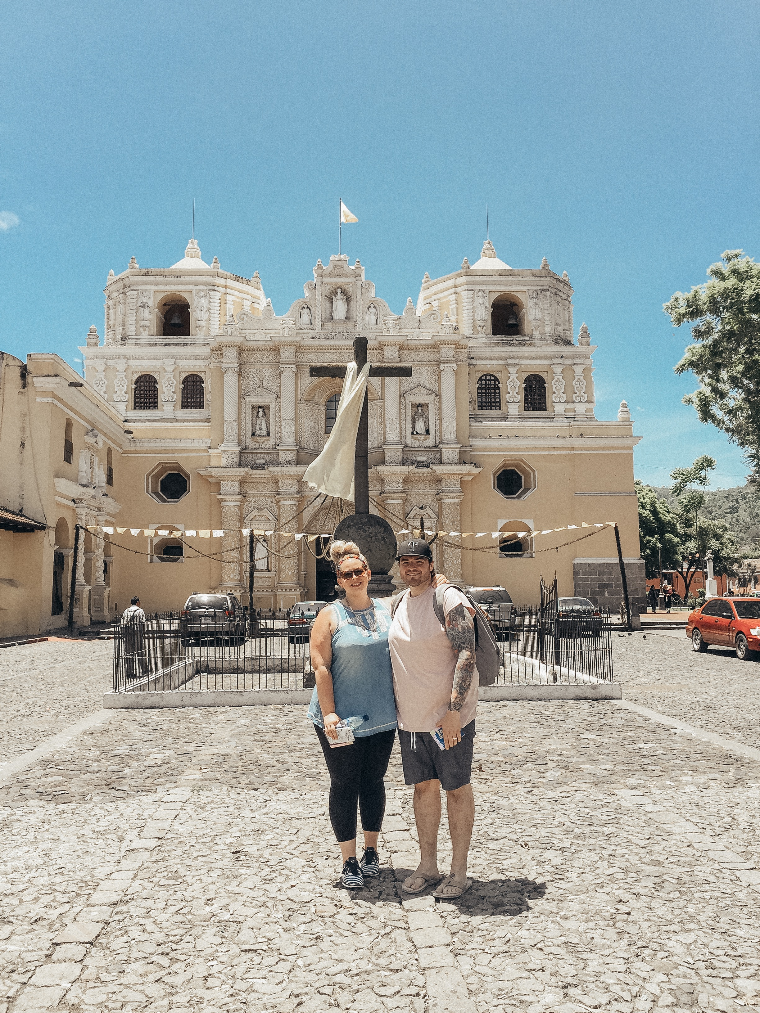 K and me on a mission trip in Antigua, Guatemala in 2016