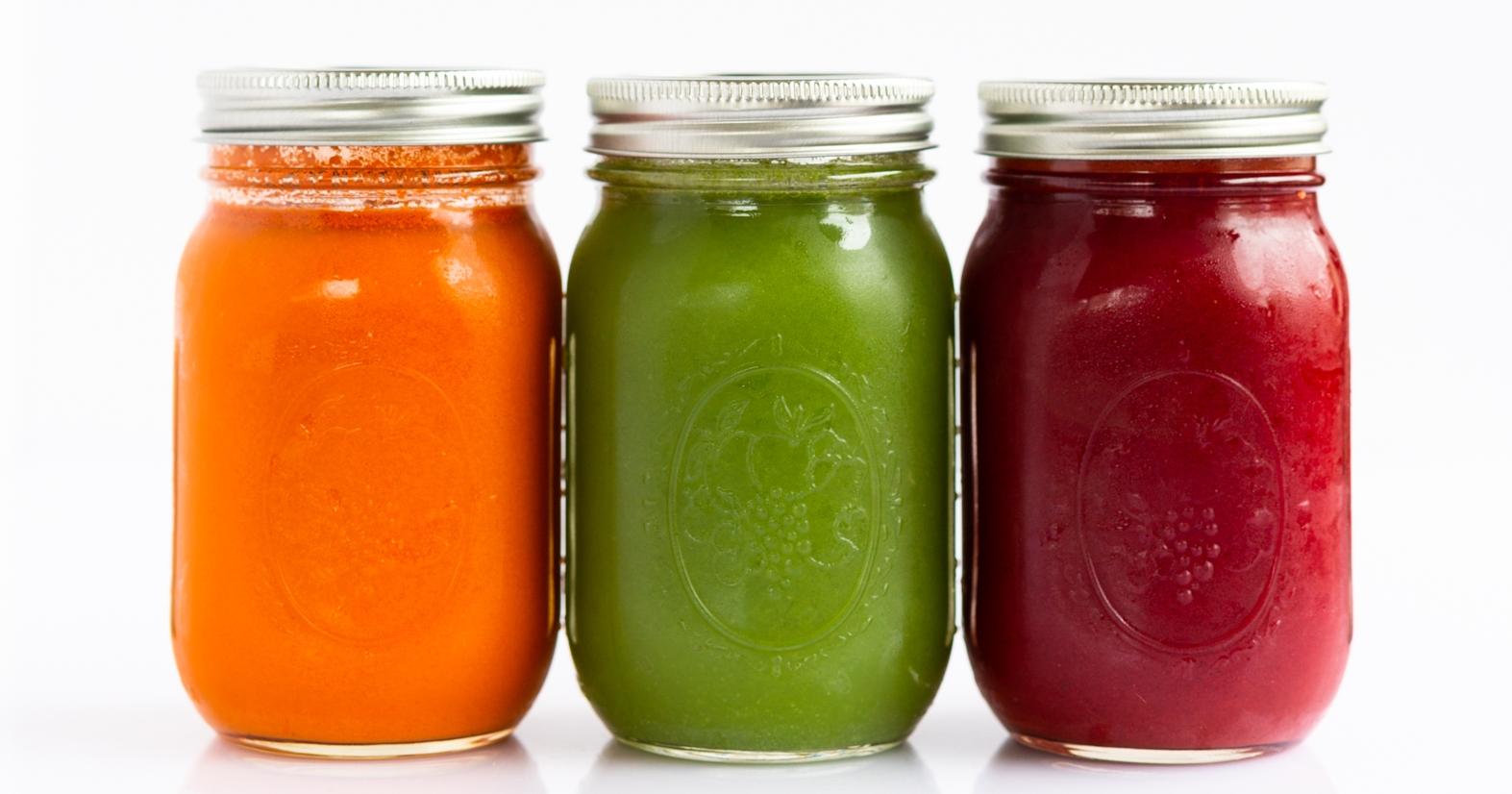 - fresh pressed juices