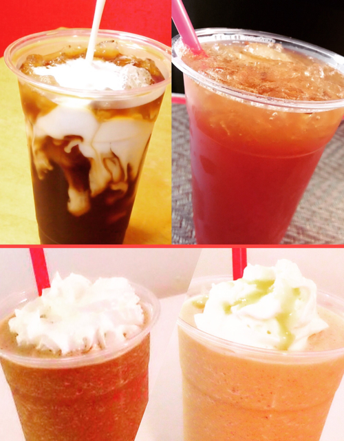 Iced Coffee and Specialty Drinks