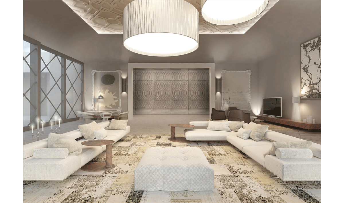 RIADH PRIVATE VILLA INTERIOR - baldi home jewels