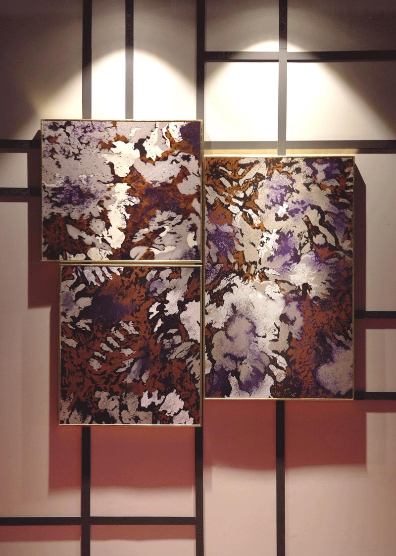 CAMOUFLAGE, stampa su legno - barj buzzoni
