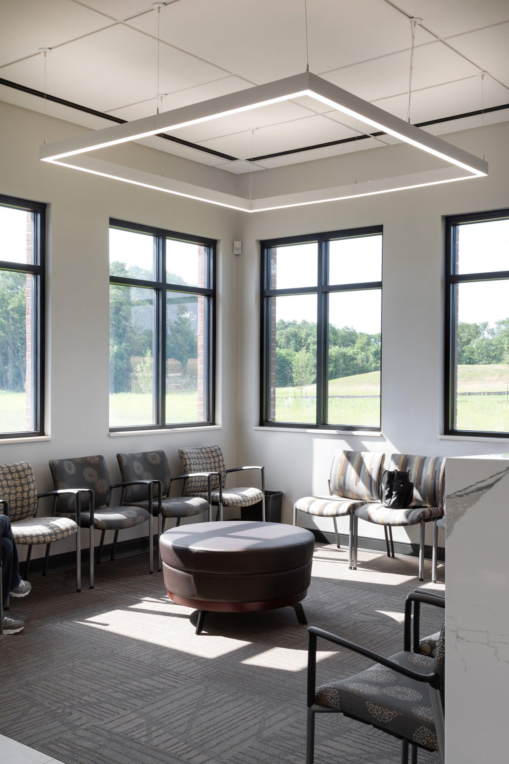 Waiting room at Summit Eye Center